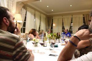 Asistentes al Club de Cata de Casa Paco en Lugo