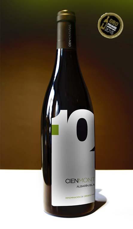 Vino Asturiano CIENMONTAÑAS ALBARÍN BLANCO