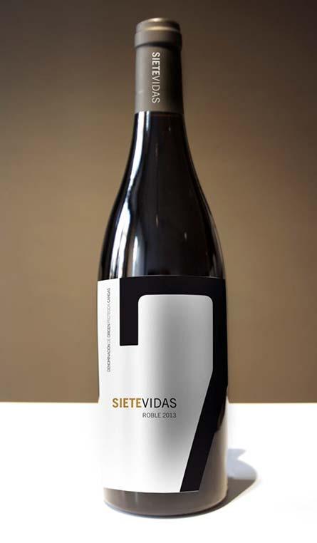 Vino de Asturias SIETEVIDAS Roble